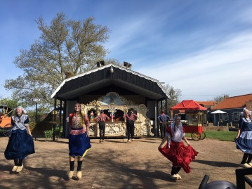 A traditional Dutch dance performed at Neil's Dutch Village